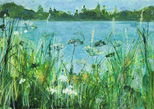 Lochore, Cow Parsley and Grasses