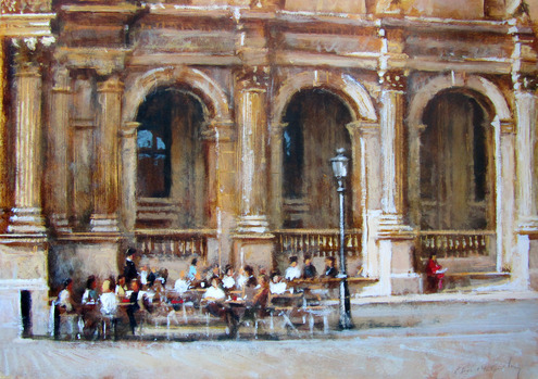 Cafe Marley, The Louvre