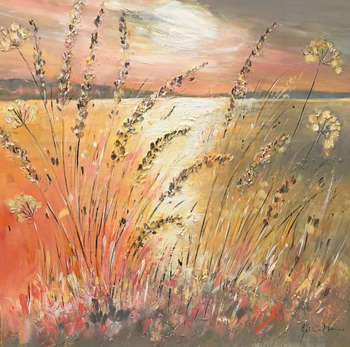 Glistening Grasses, Rutland Waters