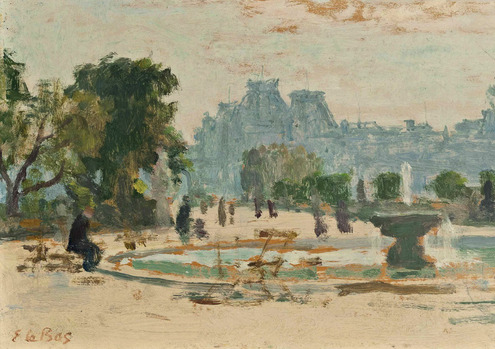 The Tuileries, Gardens