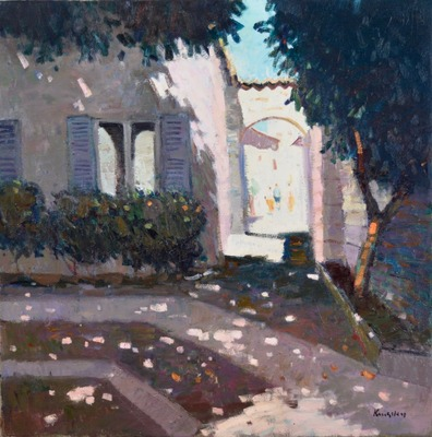 Shaded Courtyard, Aspremont