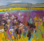 Purple Hedgerow, Carnbee