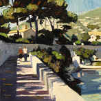 Afternoon Stroll, Cap Ferrat
