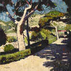 Gardens of Villa Kerylos, Beaulieu