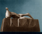 Reclining Figure: Wedge Base