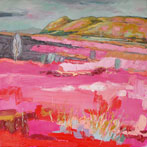 Pink Grasses, Strathbland Valley