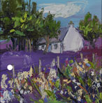 White Flowers and Cottage, Talisker