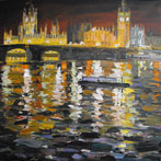 Night Reflections, Westminster
