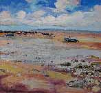 Boats at Low Tide, Morecambe