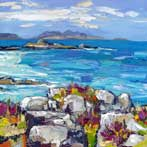 Heather on the Rocks, Morar