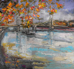 Autumn Trees, Albert Bridge