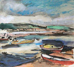 The Oyster Boats, Arcachon