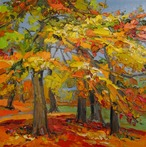 Grove of Autumn Trees