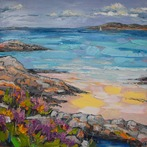Heather by Rock Pool, Morar