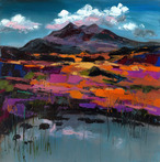 Late Autumn Afternoon, the Cuillins