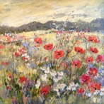 Meadow of Poppies, Norfolk