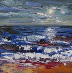 Moonlit Waves, Aldeburgh
