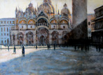 Morning Light, Piazza San Marco