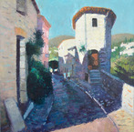 Narrow Street, St. Paul de Vence
