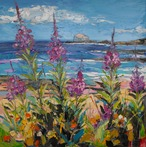 Rosebay Willowherb at North Berwick