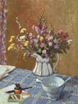 Still Life of Summer Flowers in a Jug with a Bowl