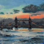 Tower Bridge at Dusk from Bermondsey