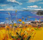 Yellow Flowers, looking towards Portrush